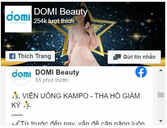 Mạng xã hội Công ty Domi Beauty
