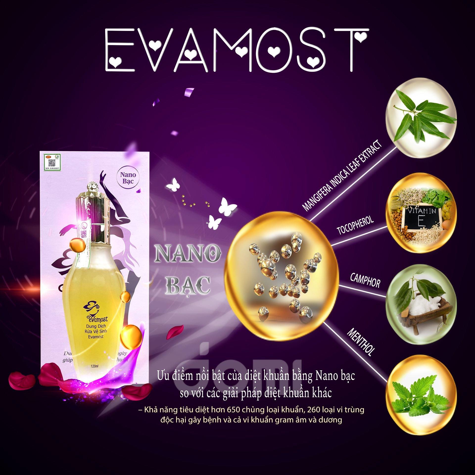 Thành phần tự nhiên của Evamost