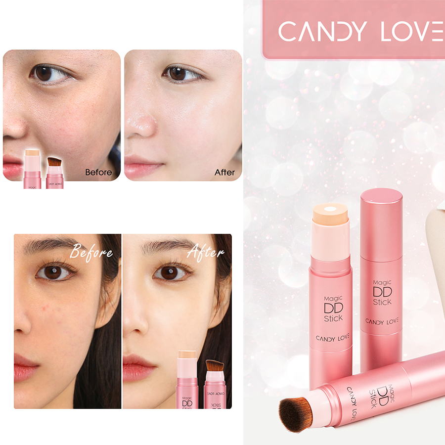 Kem nền Collagen Ngọc trai Magic DD Stick Candy Love